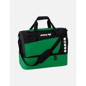 Accessoires - Sporttassen - kopen - Erima Club 5 Sporttas met bodemvak L – Smaragd