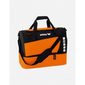 Accessoires - Sporttassen - kopen - Erima Club 5 Sporttas met bodemvak S – Oranje