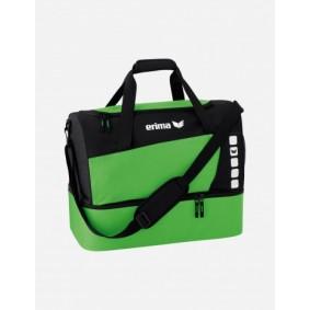 Accessoires - Sporttassen - kopen - Erima Club 5 Sporttas met bodemvak L – Groen