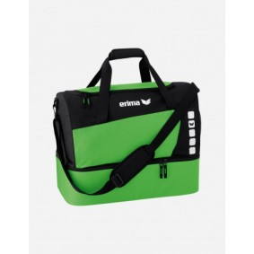 Accessoires - Sporttassen - kopen - Erima Club 5 Sporttas met bodemvak M – Groen