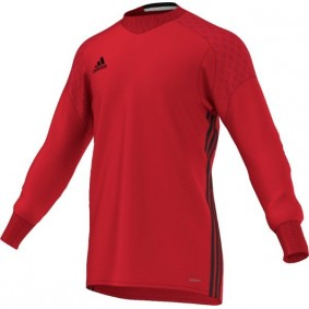 Adidas keeperskleding - Keeperskleding - Keepersshirts - Uitverkoop Keeperskleding - kopen - Adidas Keepersshirt Onore Top 16 GK SR Vivid Red/Power Red/Black (Aktie)