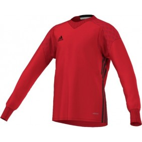 Adidas keeperskleding - Keeperskleding - Keepersshirts - Uitverkoop Keeperskleding - kopen - Adidas Keepersshirt Onore Top 16 GK JR Vived Red (Aktie)