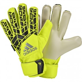 Adidas keepershandschoenen - Fingersave keepershandschoenen - Adidas Fingersave keepershandschoenen - Keepershandschoenen junior - kopen - Adidas Ace FS Junior Geel (Aktie)