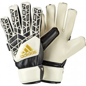 Adidas keepershandschoenen - Fingersave keepershandschoenen - Adidas Fingersave keepershandschoenen - Keepershandschoenen junior - Uitverkoop keepershandschoenen - kopen - Adidas Ace FS Junior Wit (Aktie)