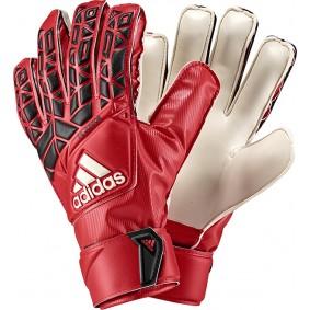 Adidas keepershandschoenen - Fingersave keepershandschoenen - Adidas Fingersave keepershandschoenen - Keepershandschoenen junior - kopen - Adidas Ace FS Junior rood / wit