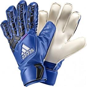 Adidas keepershandschoenen - Fingersave keepershandschoenen - Adidas Fingersave keepershandschoenen - Keepershandschoenen junior - kopen - Adidas Ace FS Junior blauw / wit