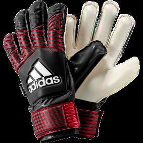 Adidas keepershandschoenen - Fingersave keepershandschoenen - Adidas Fingersave keepershandschoenen - Keepershandschoenen junior - kopen - Adidas Ace FS Junior Zwart/Rood