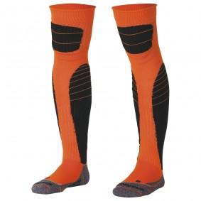 Keeperskleding - Keeperssokken - Stanno keeperskleding - kopen - Stanno High impact goalkeeper sock neon oranje/zwart