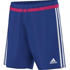Adidas keeperskleding - Uitverkoop Keeperskleding - Keeperskleding - Keepersbroeken - kopen - Adidas Short Campeon 15 Bold Bleu JR (Aktie)