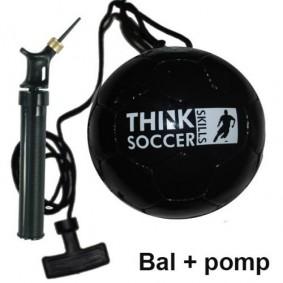 Voetballen - kopen - TSS bal Black incl. ballenpomp