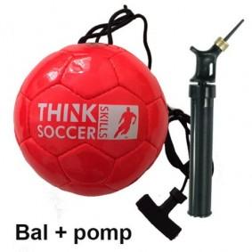 Voetballen - kopen - TSS bal Red incl. ballenpomp