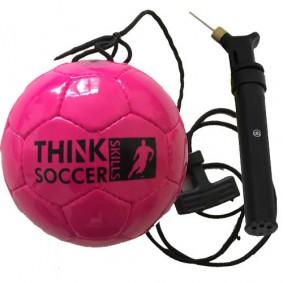 Voetballen - kopen - TSS bal Pink incl. ballenpomp