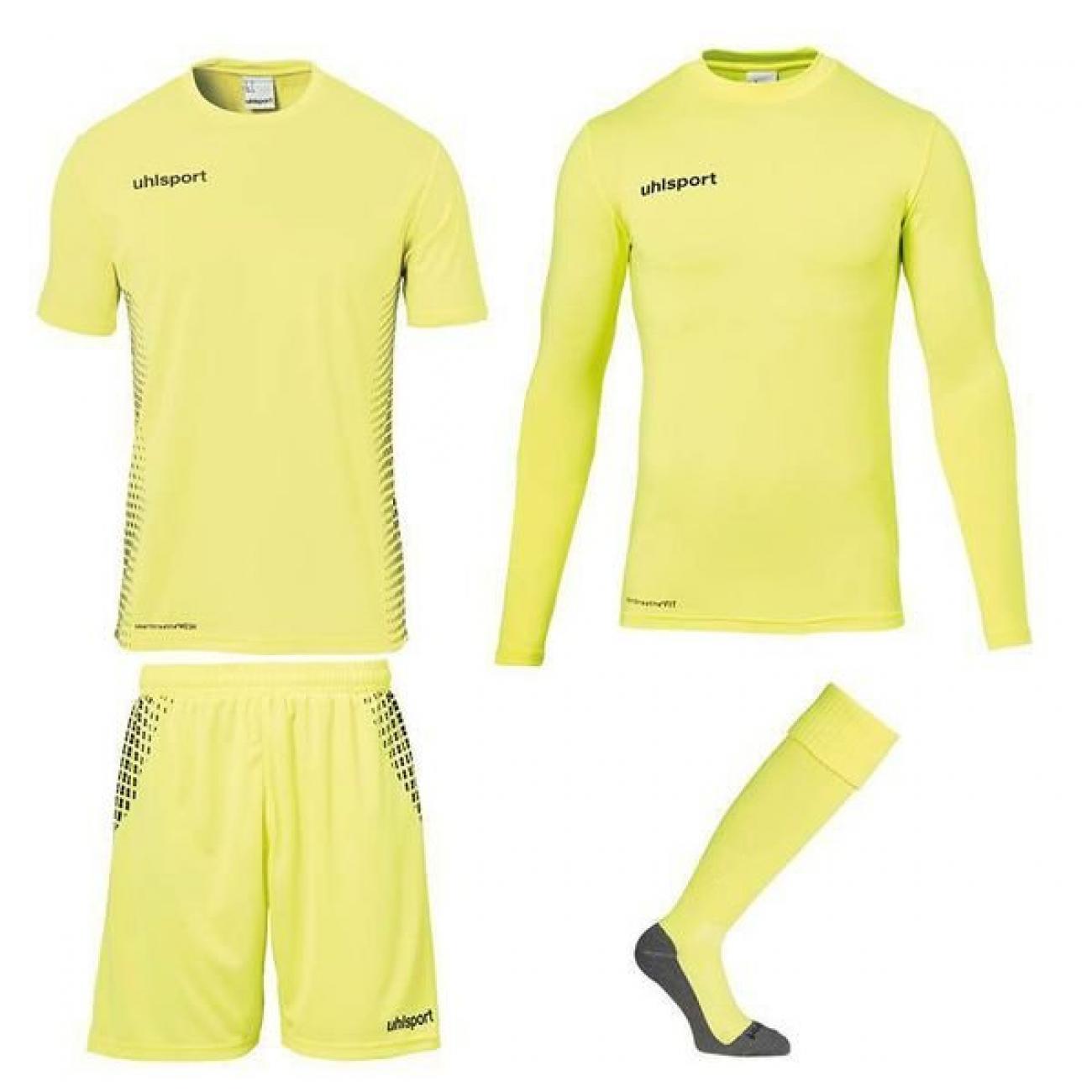 Uhlsport 4-Delige Score Goalkeeperset Geel online kopen