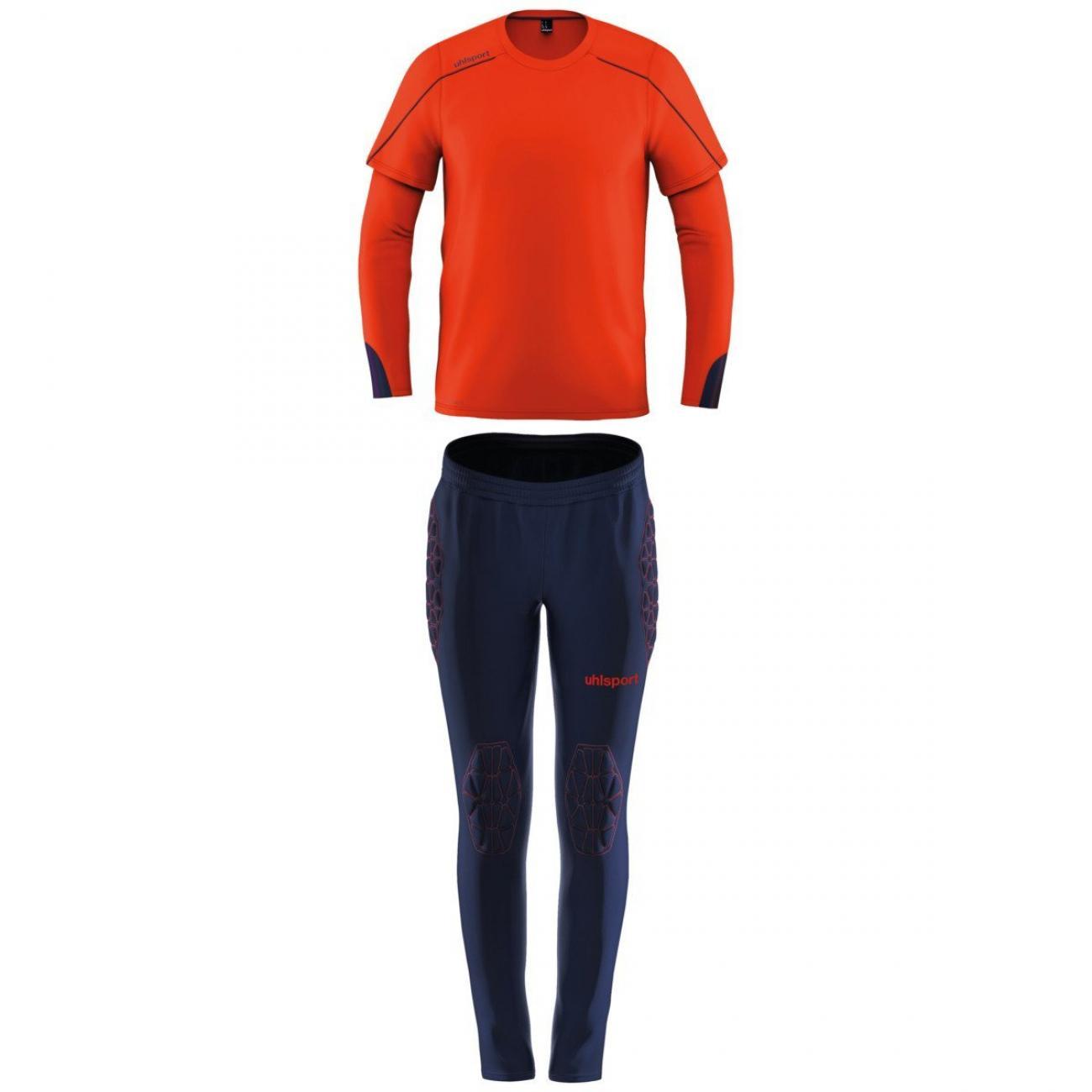Uhlsport Stream Goalkeeper Set Jr Oranje online kopen