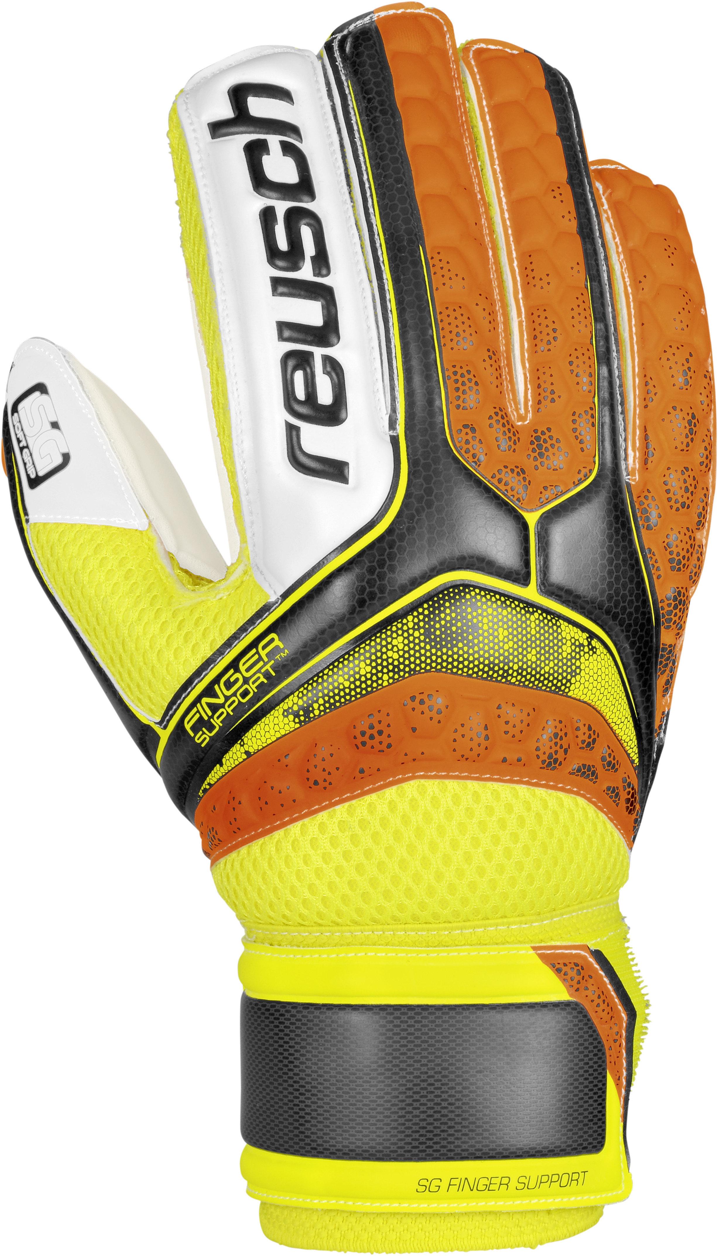 Reusch Re:pulse SG Finger Support Oranje/Zwart