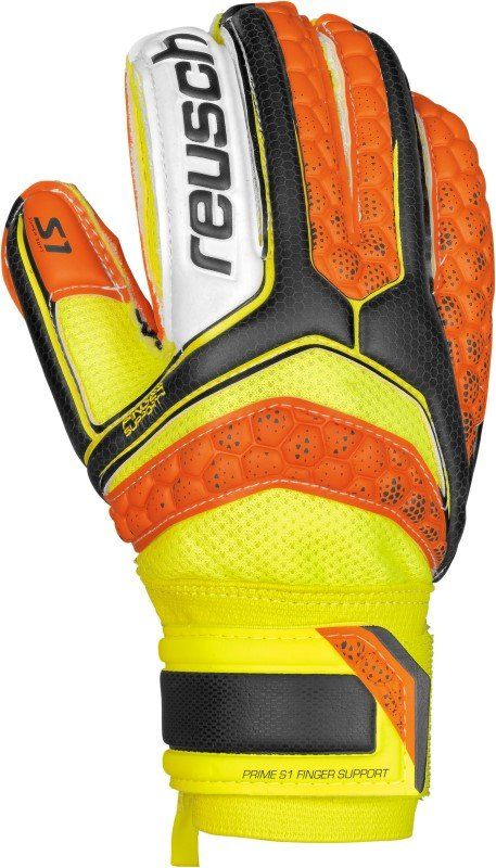 Reusch Re:Pulse Prime S1 Finger Support Junior Oranje/Geel