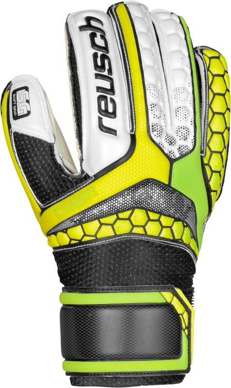 Reusch Re:Pulse SG Finger Support Easy Fit Junior Groen/Geel