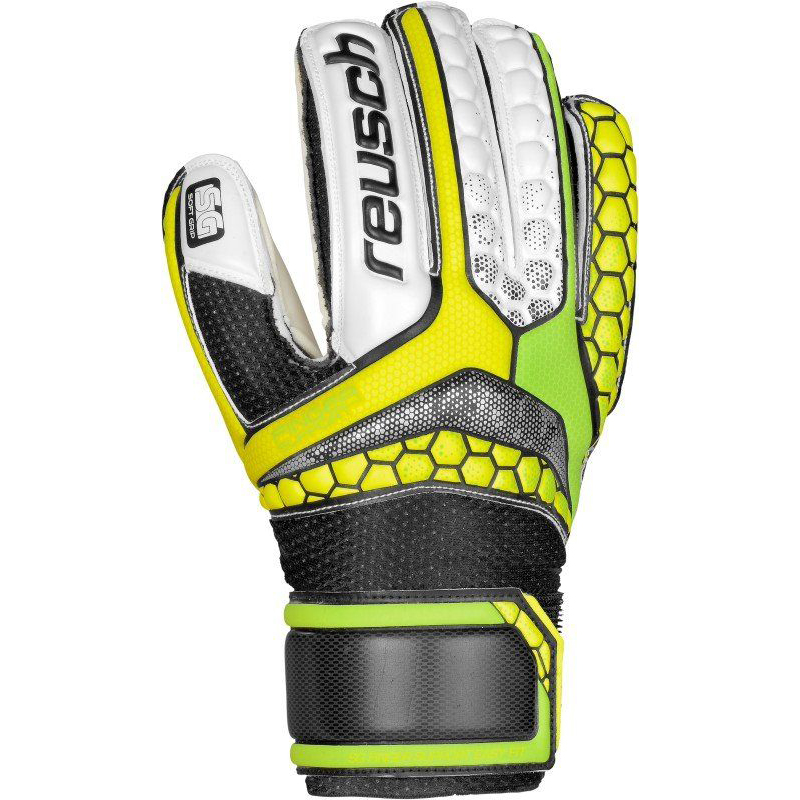 Reusch Repulse SG Finger Support Easy Fit Jr | DISCOUNT DEALS