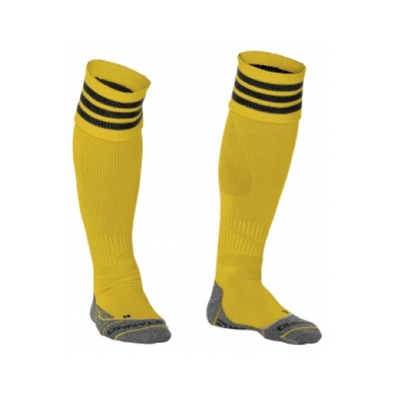 Stanno ring sock geel/zwart de stanno ring sock geel/zwart is vervaardigd marfil/elastine. deze kous heeft ...