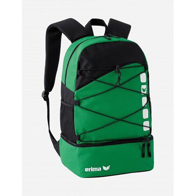 Erima Club 5 backpack Groen/Zwart