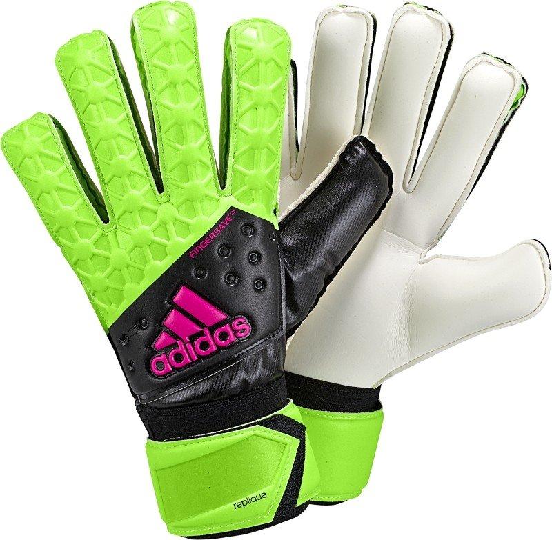 Adidas Ace Fingersave replique Zwart/Groen
