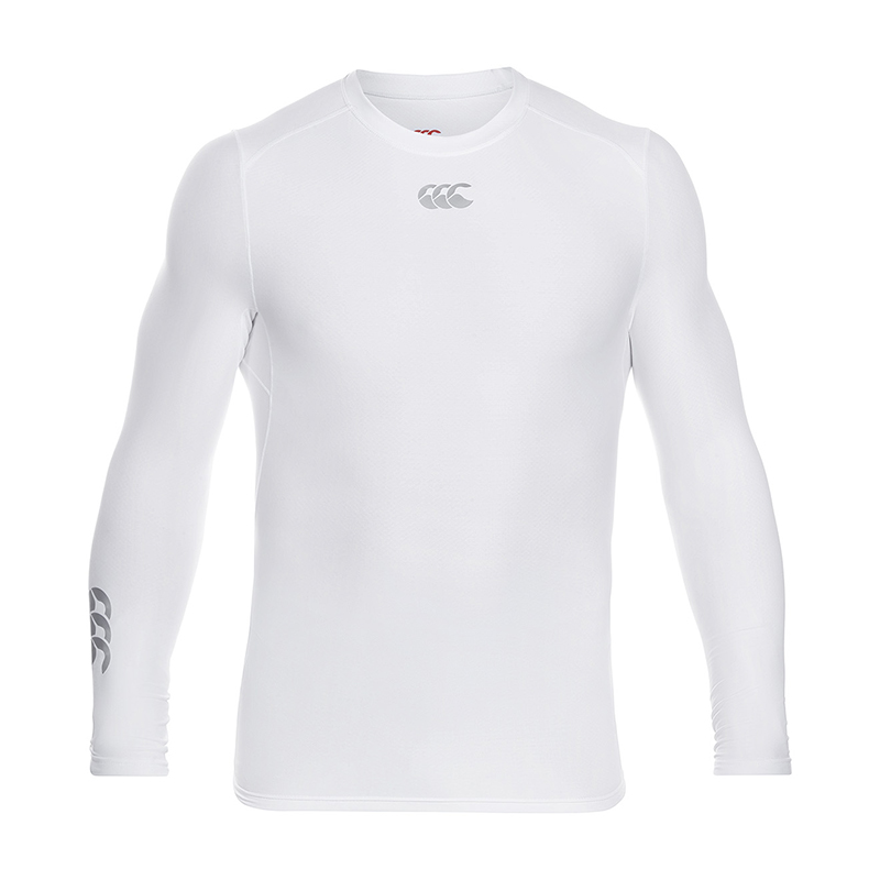Canterbury Thermoreg Long Sleeve Top White Heren