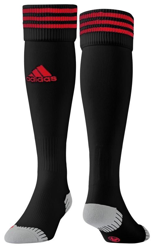 Adidas Adisock Black/ Power Red