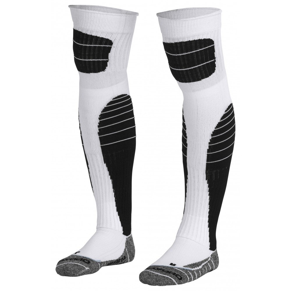 Stanno High impact goalkeeper sock wit-zwart