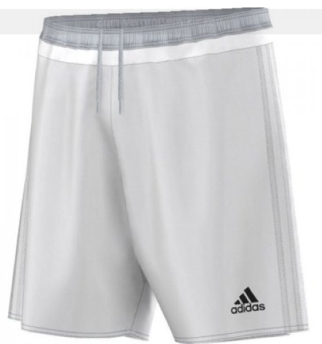 Adidas Short Campeon 15 White SR
