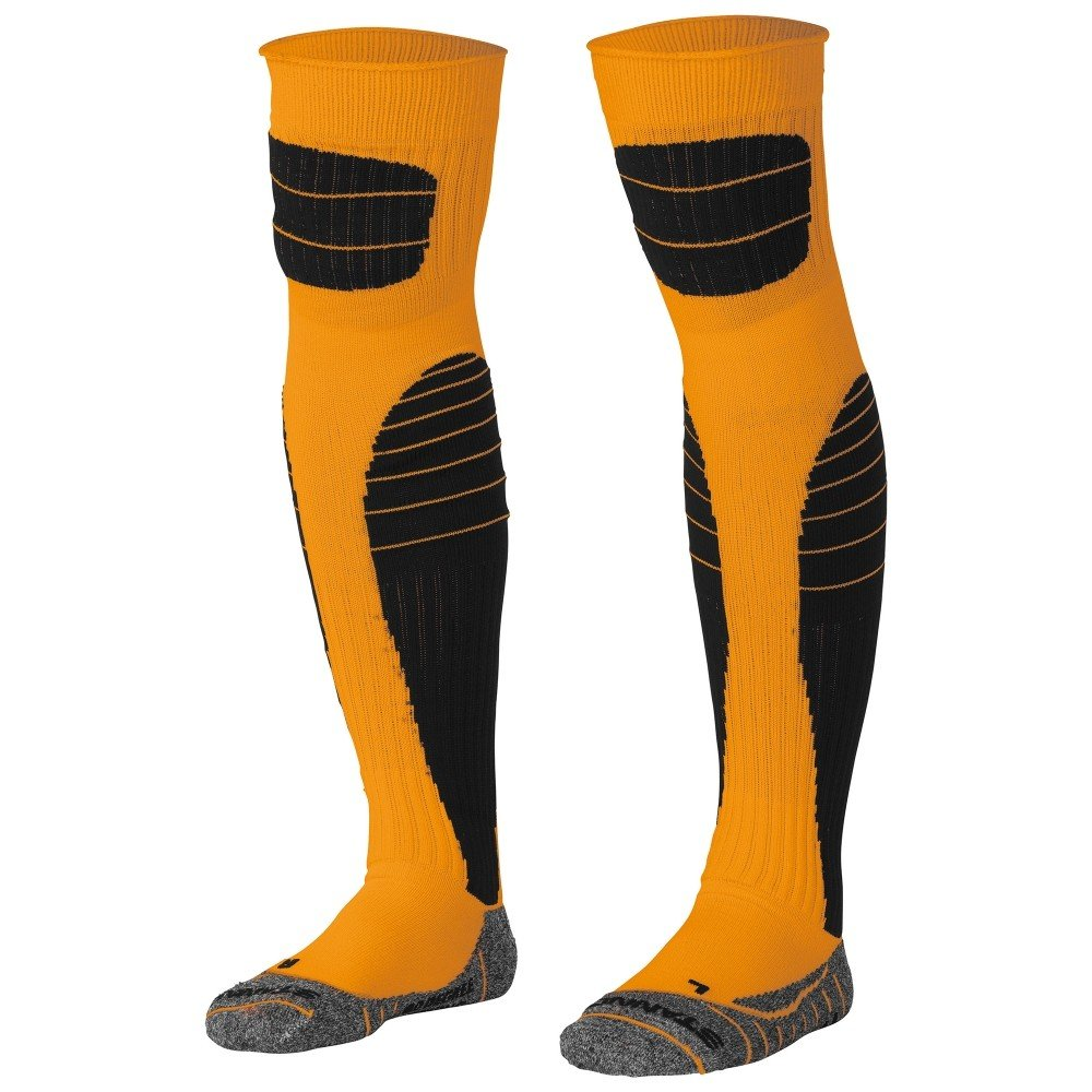 Stanno High impact goalkeeper sock oranje-zwart