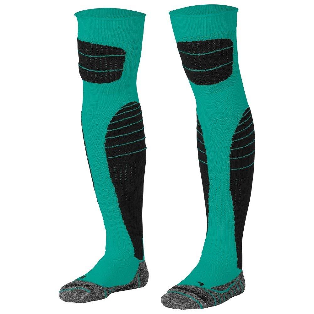Stanno High impact goalkeeper sock groen-zwart