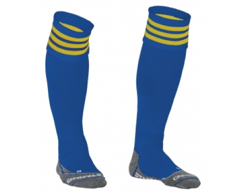 Stanno Ring Sock Blauw/Geel