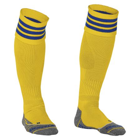 Stanno Ring Sock Geel/Blauw