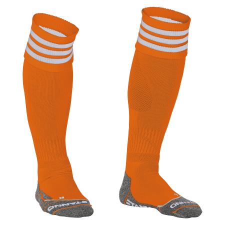 Stanno Ring Sock Oranje/Wit