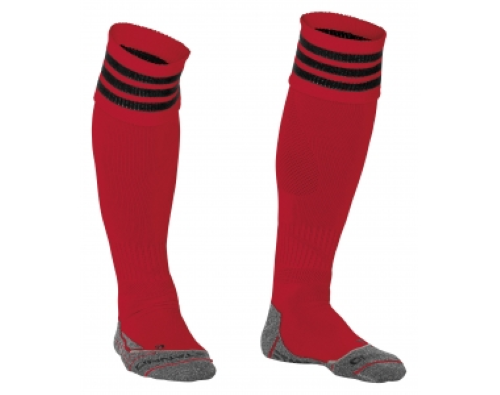 Stanno Ring Sock Rood/Zwart