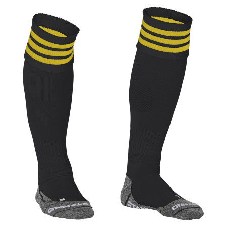 Stanno Ring Sock Zwart/Geel