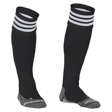 Stanno Ring Sock Zwart/Wit