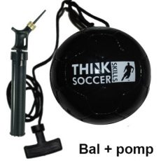 ThinkSoccerSkills startset Black Edition Deluxe incl. ballenpomp